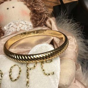 Lilly Pulitzer bracelet NEW 2015 gold tone bangle